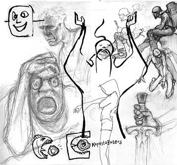 Tomas Mayer's sketches